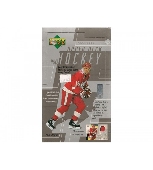 2000-01 Upper Deck  Series 1 Canadian Hockey Hobby Box