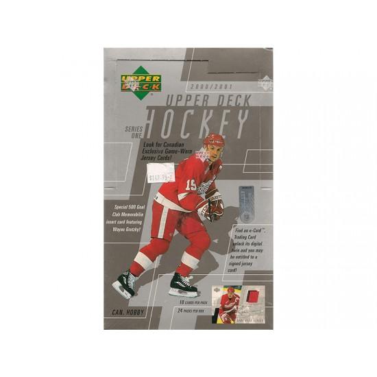 2000-01 Upper Deck  Series 1 Canadian Hockey Hobby Box
