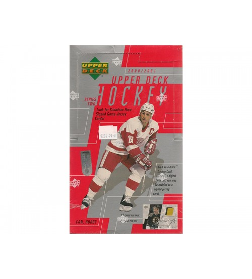2000-01 Upper Deck Series 2 Hockey Canadian Hobby Box