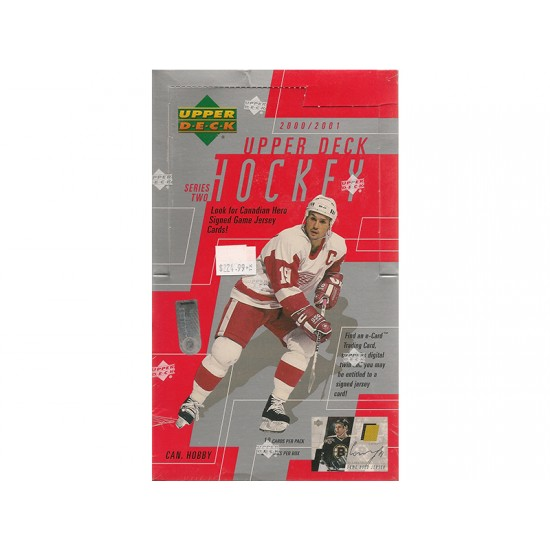 2000/01 Upper Deck Series 2 Hockey Canadian Hobby Box