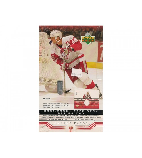 2001-02 Upper Deck Series 2 Hockey Hobby Box