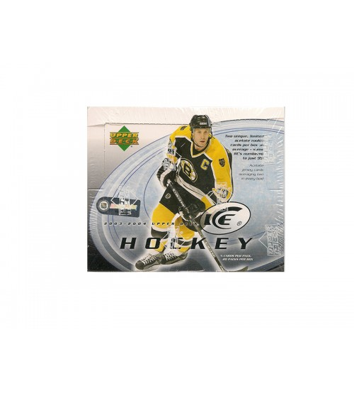 2003-04 Upper Deck Ice Hockey Hobby Box