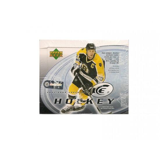 2003-04 Upper Deck Ice Hockey Hobby Box
