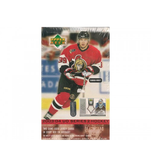 2003-04 Upper Deck Series 2 Hockey Canadian Hobby Box