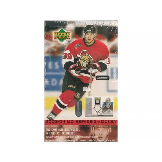 2003/04 Upper Deck Series 2 Hockey Hobby Box