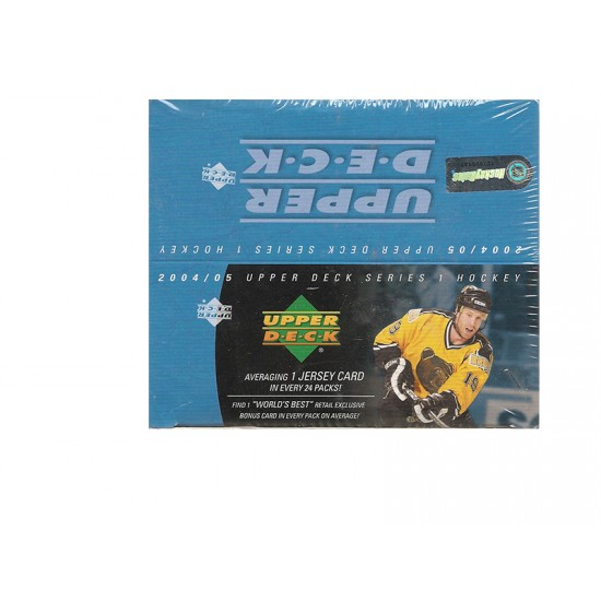 2004-05 Upper Deck Series 1 Hockey Retail Box