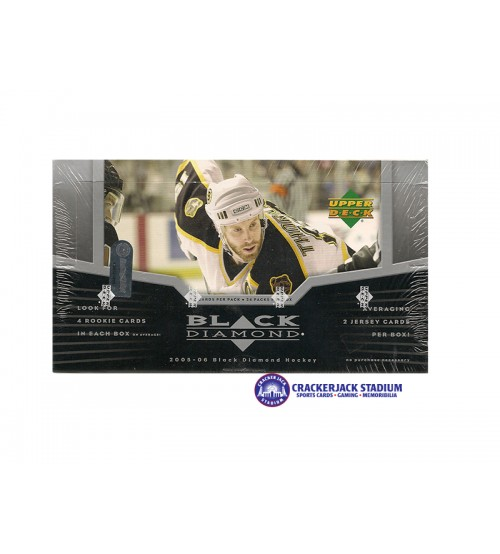 2005-06 Upper Deck Black Diamond Hockey Hobby Box