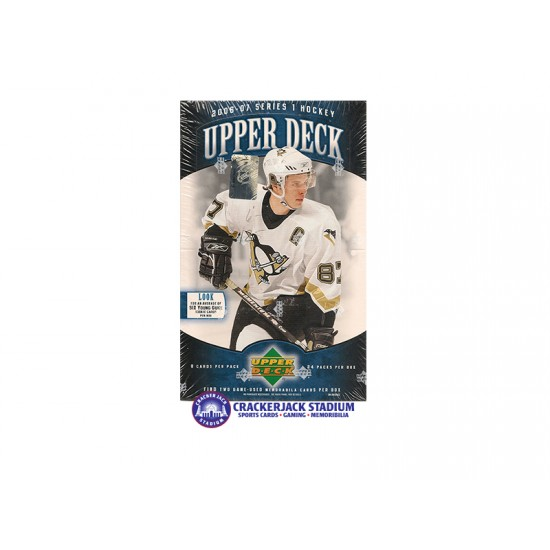 2006-07 Upper Deck Series 1 Hockey Hobby Box
