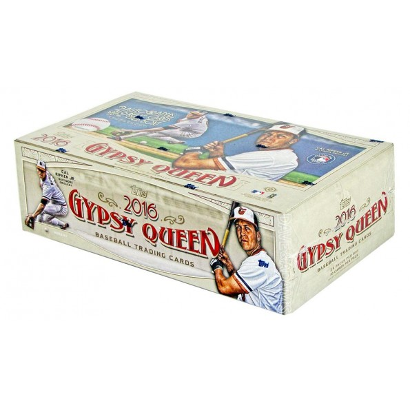 2016 Topps Gypsy Queen Baseball Hobby Box