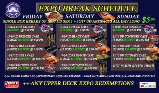 Crackerjack Stadium to host LIVE box breaks at Toronto Card Expo 2016