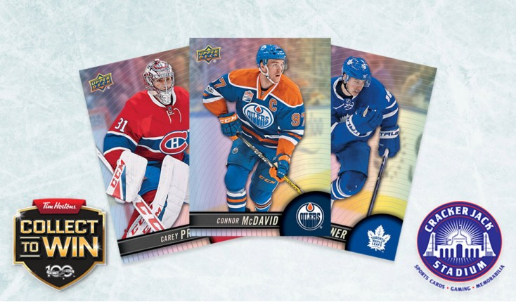 We've got 'em! 2017-18 Upper Deck Tim Hortons Hockey Cards