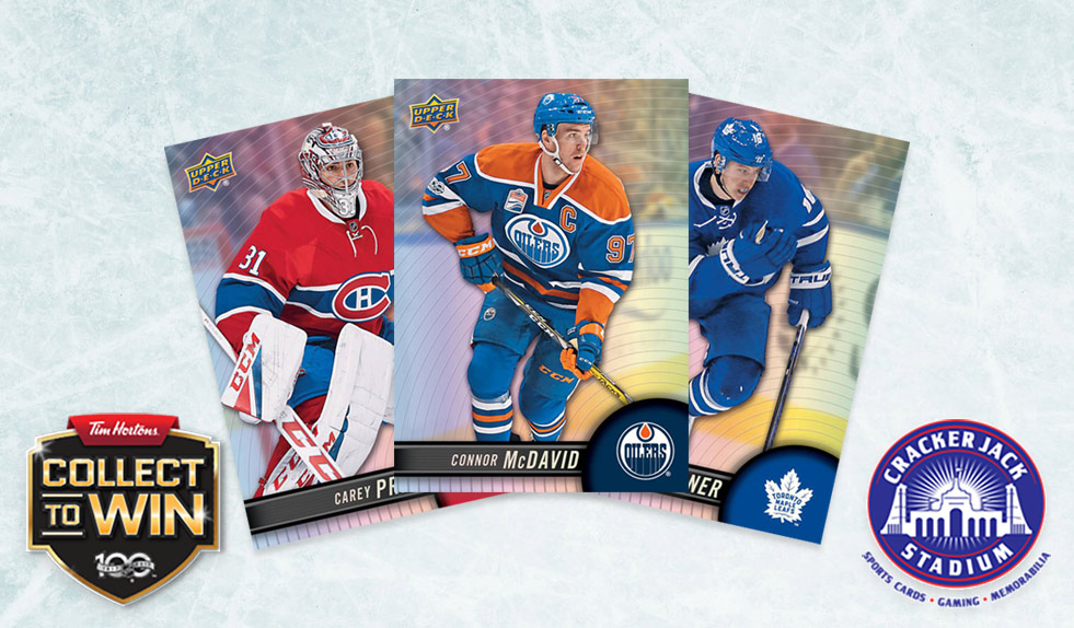 We've got 'em! 2017/18 Upper Deck Tim Hortons Hockey Cards