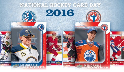 Celebrate National Hockey Card Day With Us - Sat, Feb 6, 2016