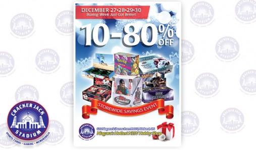 Boxing Week Storewide Savings Event - December 27-30, 2014