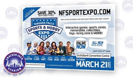 Crackerjack Stadium Exhibiting @ 2015 Niagara Falls Sports & Hobby Expo