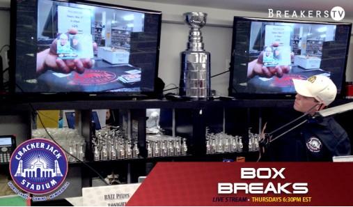 Crackerjack Stadium Streaming LIVE Box Breaks on Breakers TV