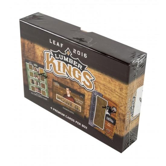 2016/17 Leaf Lumber Kings Hockey Hobby Box