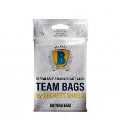 Beckett Shield Resealable Standard Team Bags - 100/Pack