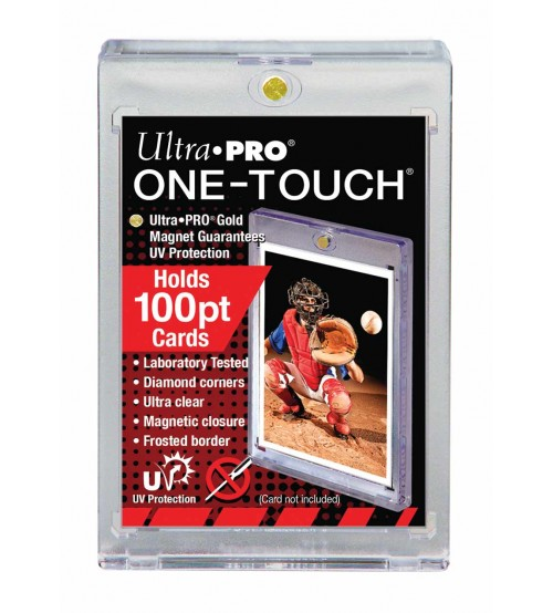 Ultra PRO ONE-TOUCH Magnetic Card Holder, 100pt