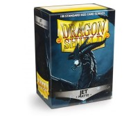 Dragon Shield Card Sleeves - Matte Jet - 100/Pack
