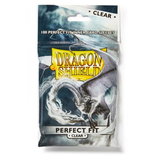 Dragon Shield Perfect Fit Inner Card Sleeves - Clear - 100/Pack
