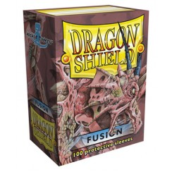 Dragon Shield Fusion Protective Card Sleeves in Deck Storage Box, 100/Pack
