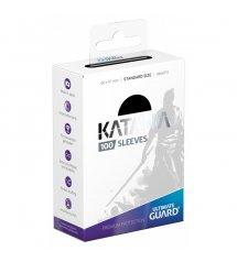 Ultimate Guard Katana Protective 100-Card Sleeves Standard Size, Black