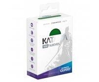 Ultimate Guard Katana Protective 100-Card Sleeves Standard Size, Green