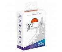 Ultimate Guard Katana Protective 100-Card Sleeves Standard Size, Orange