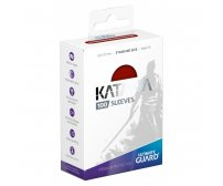Ultimate Guard Katana Protective 100-Card Sleeves Standard Size, Red