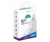 Ultimate Guard Katana Protective 100-Card Sleeves Standard Size, Turquoise