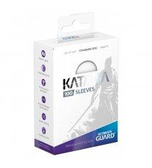 Ultimate Guard Katana Protective 100-Card Sleeves Standard Size, White