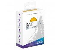 Ultimate Guard Katana Protective 100-Card Sleeves Standard Size, Yellow