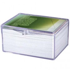 Ultra PRO Hinged 100-Count Card Storage Case with Snap-Lock Closure
