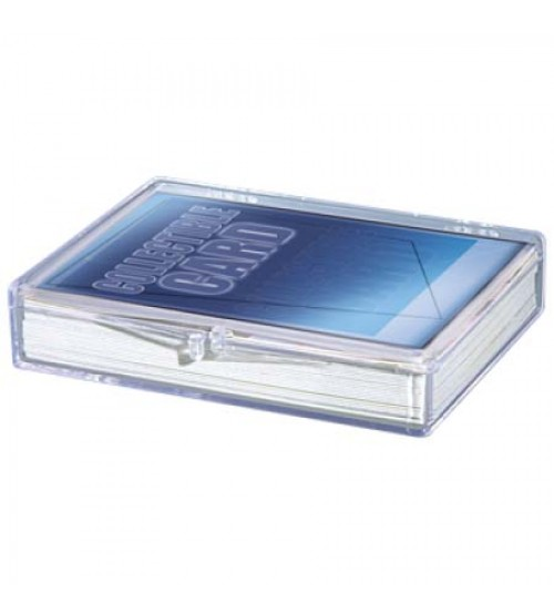 Ultra PRO Hinged 35-Count Card Storage Case with Snap-Lock Closure
