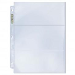 Ultra PRO Platinum Series Hologram 3-Pocket Pages, 100/Pack