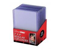 """Ultra PRO 3"""" x 4"""" Regular 35pt Toploader, 25/Pack"""