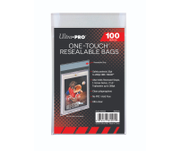 Ultra PRO ONE-TOUCH Resealable Bags, 100/Pack