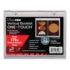 Ultra PRO ONE-TOUCH Vertical Booklet Magnetic Card Holder & Display Stand, 175pt