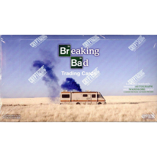 2014 Cryptozoic Breaking Bad Seasons 1 - 5 Trading Cards Box