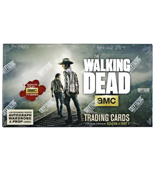 2016 Cryptozoic The Walking Dead Season 4 Part 1 Trading Cards Box