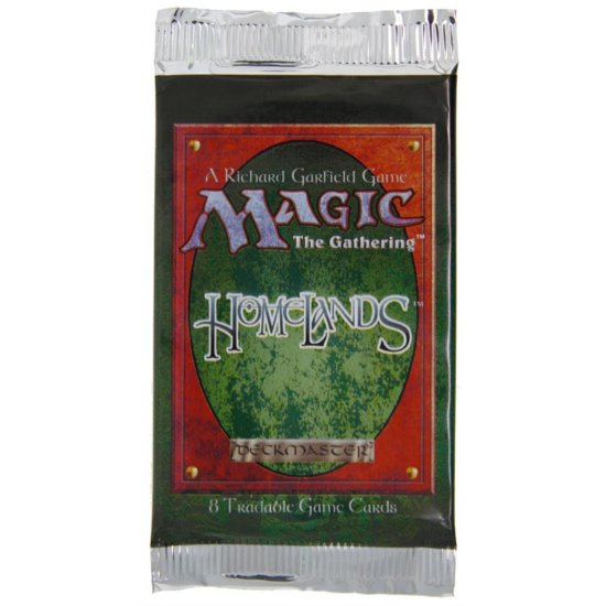 Magic: The Gathering Homelands 8-Card Booster Pack