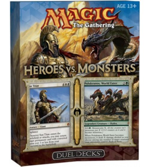 Magic: The Gathering Duel Decks: Heroes vs. Monsters