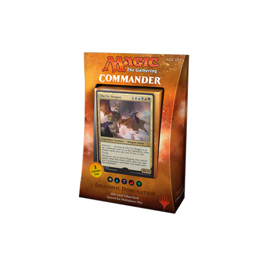 Magic: The Gathering Commander 2017 - Draconic Domination