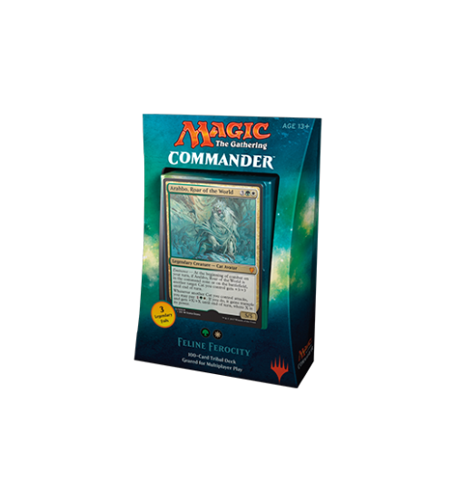 Magic: The Gathering Commander 2017 - Feline Ferocity