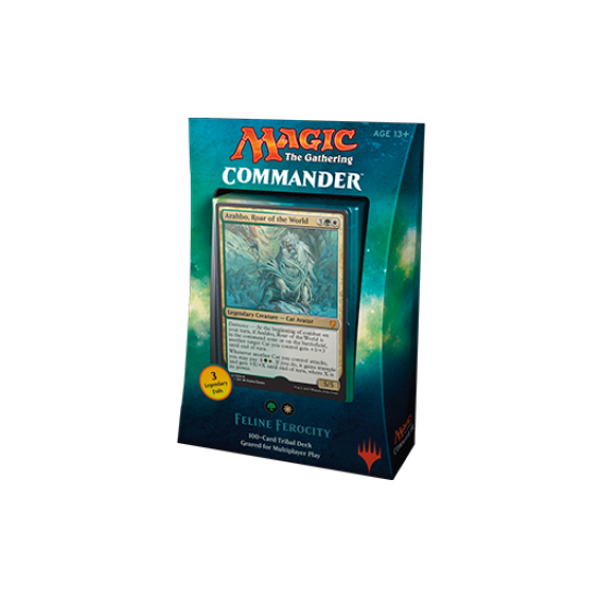 Magic: The Gathering Commander 2017 - Feline Ferocity