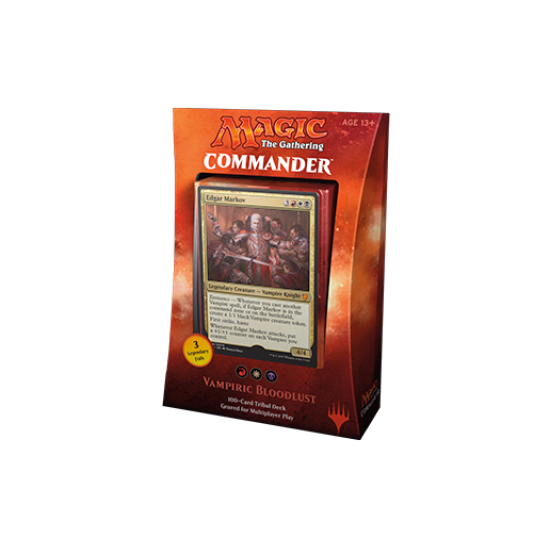 Magic: The Gathering Commander 2017 - Vampiric Bloodlust