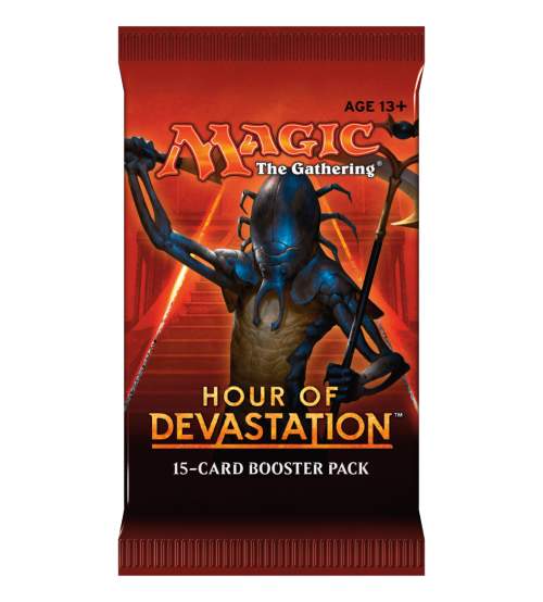 Magic: The Gathering Hour of Devastation 15-Card Booster Pack