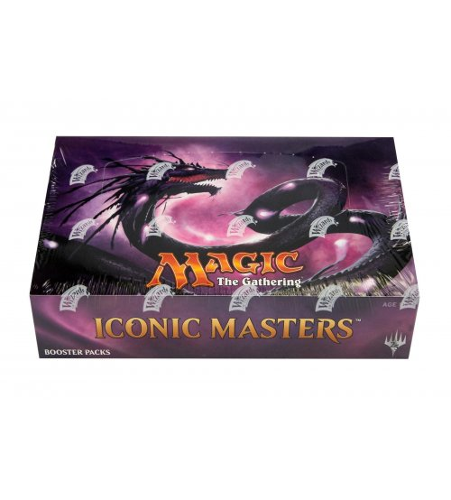 Magic: The Gathering Iconic Masters Booster Box, 24/Pack