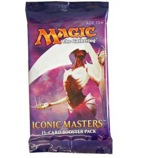 Magic: The Gathering Iconic Masters 15-Card Booster Pack